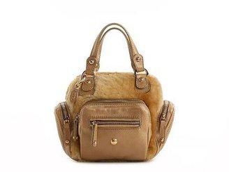 Tod's Leather & Fur Mini Satchel