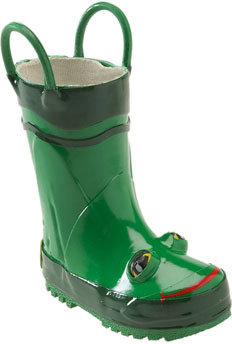Western Chief 'Frog' Rain Boot (Walker, Toddler, Little Kid & Big Kid)