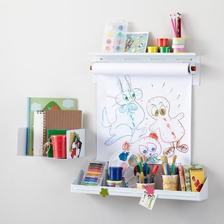 Up Against the Wall Storage Set (White)