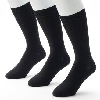Marc Anthony Men's 3-pk. Ribbed Dress Socks