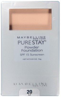 Maybelline PureStay Powder Foundation SPF 15