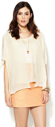 Chelsea Flower Silk Embroidered Blouse