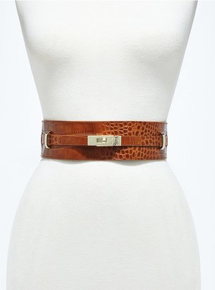 GUESS by Marciano Turn-Lock Belt