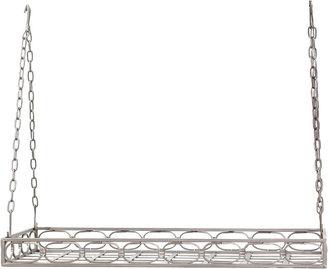Old Dutch International Rectangular Pot Rack + 16 Hooks