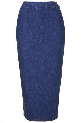 Boutique Denim pencil skirt