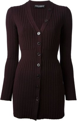 Dolce & Gabbana ribbed knit cardigan