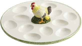 Paula Deen 10-in. Southern Rooster Egg Tray