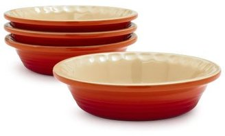Le Creuset Mini Flame Pie Dishes, Set of 4