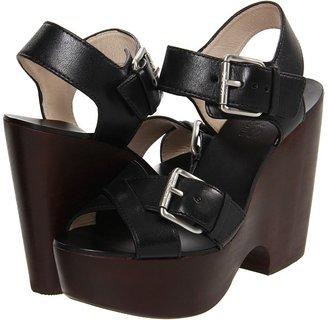 KORS Sahale (Black Vachetta) - Footwear