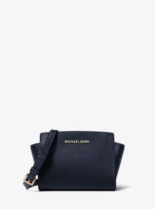 MICHAEL Michael Kors Selma Mini Saffiano Leather Crossbody
