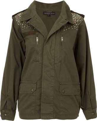 Swarovski Petite Crystal Army Jacket