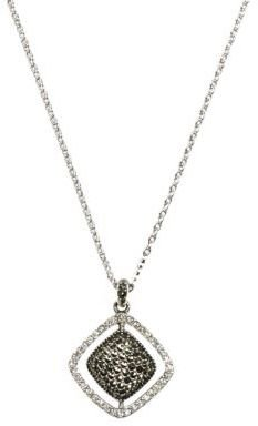 Judith Jack Sterling Silver & Crystal Pendant Necklace