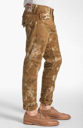 True Religion Brand Jeans 'Ricky' Straight Leg Jeans (Desert Sand)