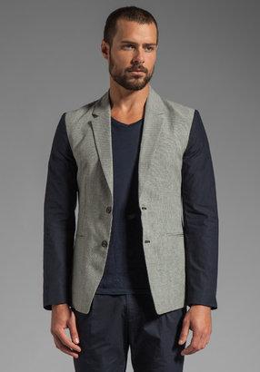 Kai-aakmann Blazer in Grey/Black