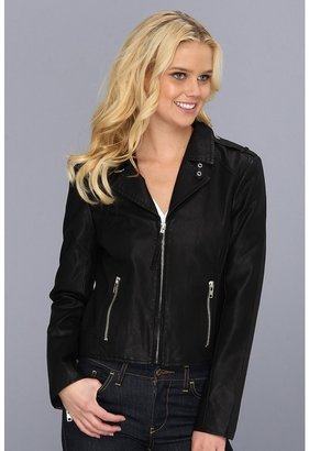BB Dakota Missy Vegan Leather (Black) - Apparel