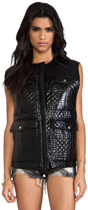 Shakuhachi Quilted Vest