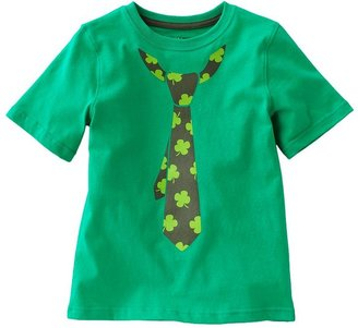 Jumping beans® shamrock tie st. patrick's day tee - boys 4-7x