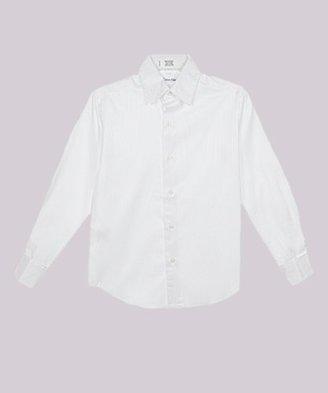Calvin Klein Dress Up Boys 8-20 Long Sleeve Stripe Woven Shirt