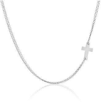 Adina by Tiny Cross Necklace