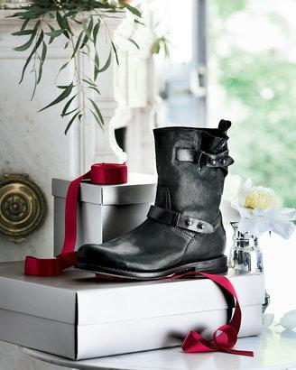 Rag & Bone Moto Leather Boot, Black