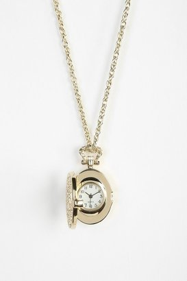 Urban Outfitters Locket Watch Necklace