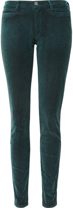 MiH Jeans The Ellsworth mid-rise stretch-corduroy skinny jeans