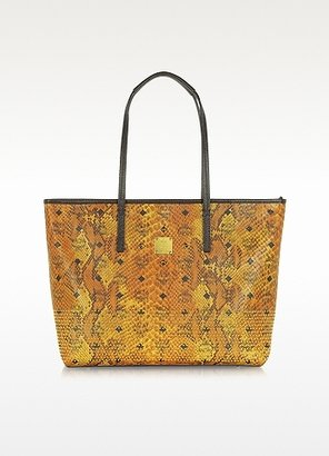MCM Armour Medium Signature Tote
