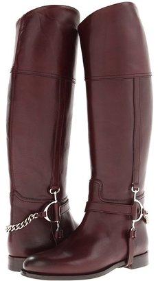 Ralph Lauren Sandra (Bordeaux) - Footwear