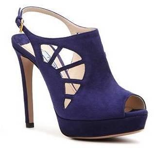 Prada Suede Cutout Sandal