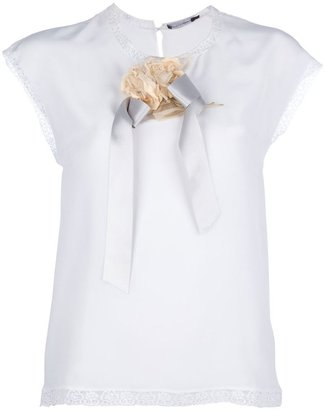 Dolce & Gabbana flower detail top
