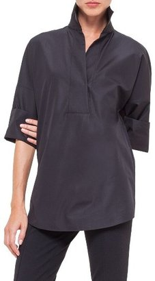 Women's Akris Punto Cotton Poplin Tunic $495 thestylecure.com