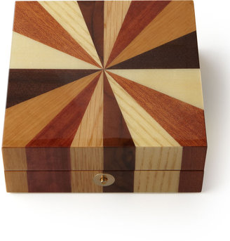 Horchow Wooden Jewelry Box