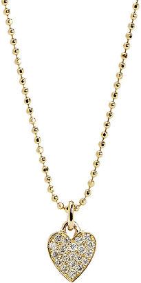 Jennifer Meyer Women's Pavé Diamond Heart Pendant Necklace