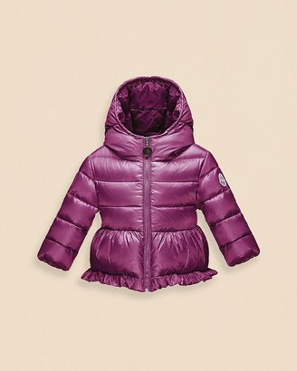 Moncler Infant Girls' Odile Hooded Puffer Jacket - Sizes 9-24 Months