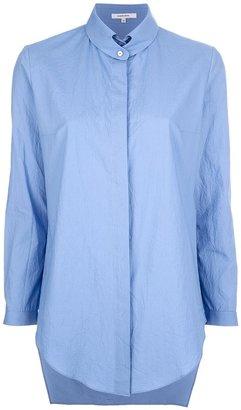 Carven button collar shirt