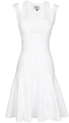 Zac Posen Twill Dress With Straps