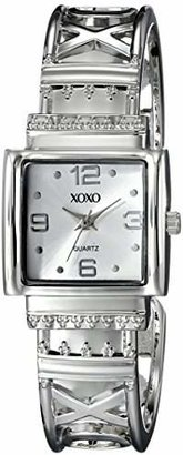 XOXO Women's XO1086 Dial -tone Bangle Watch