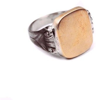 George Frost - Signet Ring - Brown/White Bronze