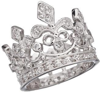JG Crystal Crown Ring