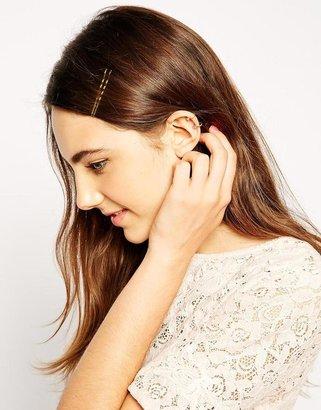 Asos Circle Crystal Ear Cuff