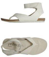 PEDRO GARC??A Thong sandals