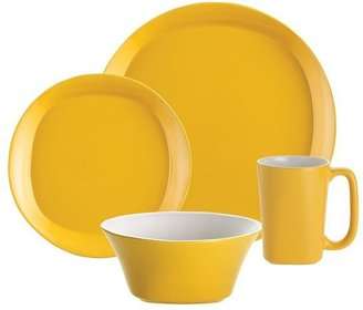 Rachael Ray yellow 16-pc. dinnerware set