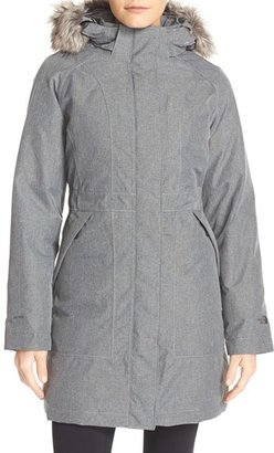 Women's The North Face 'Arctic' Down Parka With Removable Faux Fur Trim Hood $299 thestylecure.com