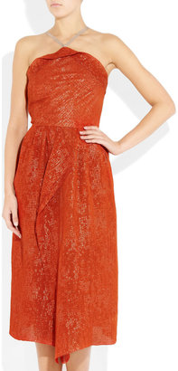 Roland Mouret Rouncewell silk-blend dress