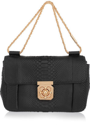 Chloé Elsie python shoulder bag