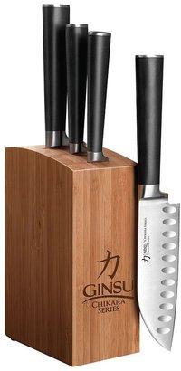 Ginsu chikara 5-pc. cutlery block set