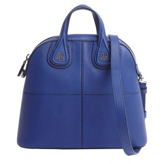Givenchy royal blue leather 'Nightingale' convertible tote bag