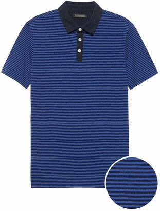 Banana Republic Slim Luxury-Touch Performance Golf Polo Shirt