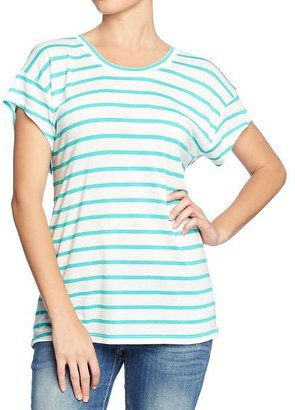 Old Navy Women's Striped Button-Back Tees