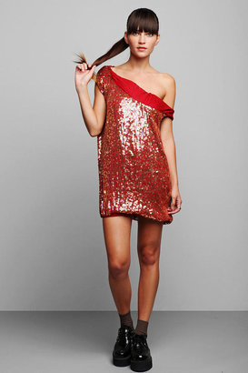 Luxury Jones for Urban Renewal Sequined Asymmetrical Tunic